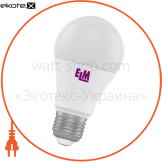 b60 12w pa10 e27 4000 elm светодиодные лампы electrum ELM 18-0043
