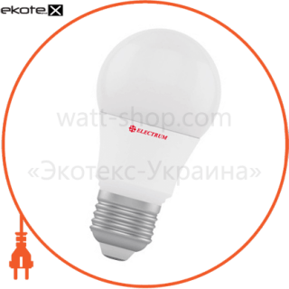 лампа светодиодная стандартная ld-7 7w e27 3000k алюмопл. корп. a-ld-1358 светодиодные лампы electrum Electrum A-LD-1358
