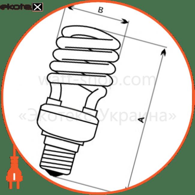 лампа энергосберегающая fc-101 15w e27 4000k  - a-fc-0623 энергосберегающие лампы electrum Electrum A-FC-0623