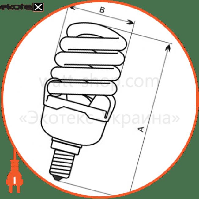лампа энергосберегающая fc-111 18w e14 4000k  - a-fc-1455 энергосберегающие лампы electrum Electrum A-FC-1455