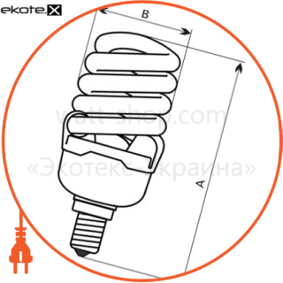 fc-114 30w e27 4000k (t3) энергосберегающие лампы electrum Electrum A-FC-1533
