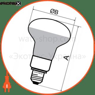 лампа светодиодная r50 lr-16 6w e14 4000k алюмопл. корп. a-lr-1065 светодиодные лампы electrum Electrum A-LR-1065