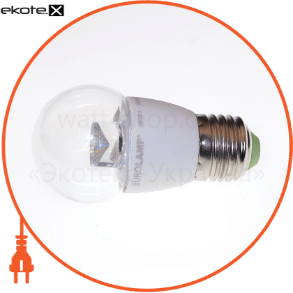 led лампа g45 5w e27 3000k прозора eurolamp светодиодные лампы eurolamp Eurolamp LED-G45-05273(D)clear