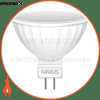 лампа світлодіодна mr16 8w 4100k 220v gu5.3 светодиодные лампы maxus Maxus 1-LED-514