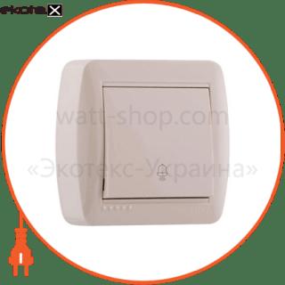 кнопка звонка demet, античный кедр (711-0400-103) кнопочный выключатель (кнопка звонка) Lezard 711-0400-103