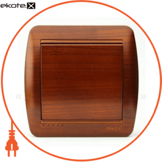 кнопка звонка demet, клен (711-4700-103) кнопочный выключатель (кнопка звонка) Lezard