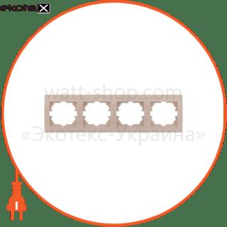 рамка пятиместная deriy горизонтальная белый 702-0200-150 рамка Lezard 702-0200-150