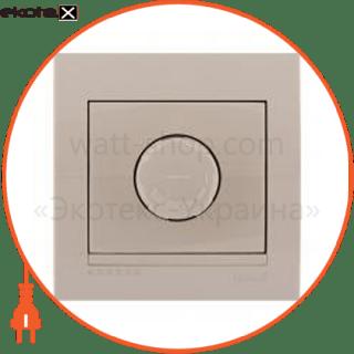 светорегулятор поворотный deriy 800вт ip20 темно-серый металлик 702-2929-115 диммер Lezard