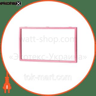 вставка двойная розовая mira (801-0221-701) вставка Lezard