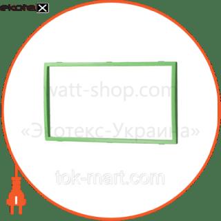 вставка двойная зелёная mira (801-0224-701) вставка Lezard 801-0224-701