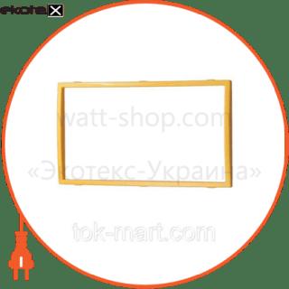 вставка двойная золото mira (801-0226-701) вставка Lezard 801-0226-701