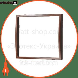 вставка одинарная коричневая mira (801-0118-701) вставка Lezard 801-0118-701