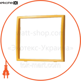 вставка одинарная оранжевая mira (801-0123-701) вставка Lezard