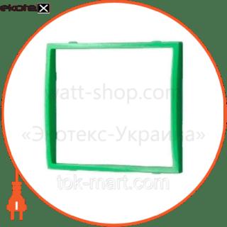 вставка одинарная зелёная mira (801-0124-701) вставка Lezard 801-0124-701
