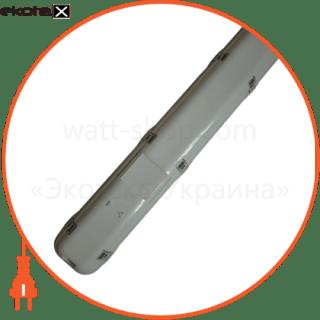 люминесцентный светильник 2х58 с эл. магнит ip65 (н/к)