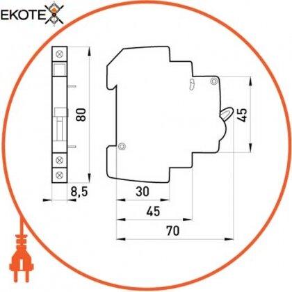 Enext p042101 сигнальный дополнительный контакт e.mcb.alt