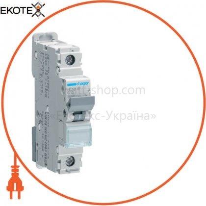 Hager NCN110 автоматический выключатель 1p 10ka c-10a 1m