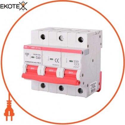 Enext i0630034 модульный автоматический выключатель e.industrial.mcb.150.3.c63, 3р, 63а, c, 15ка