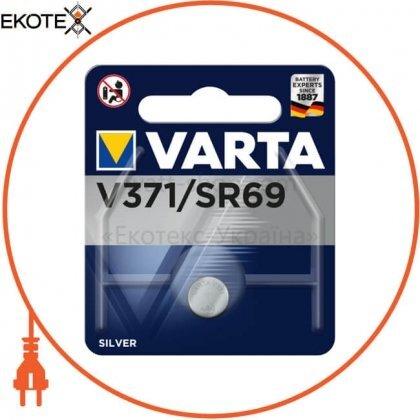 Varta 371101111 батарейка varta v 371 1 шт