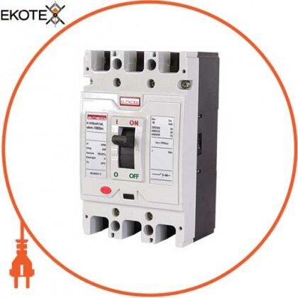 Enext i0650008 силовой автоматический выключатель e.industrial.ukm.100sm.63, 3р, 63а