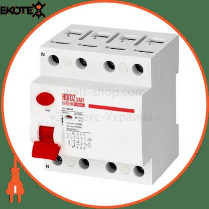 Horoz Electric 114-003-4100 дифференциальный автоматический выключатель 4р 100а 30ma 230v