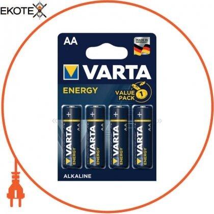 Varta 4106229414 батарейка varta energy aa bli 4 шт