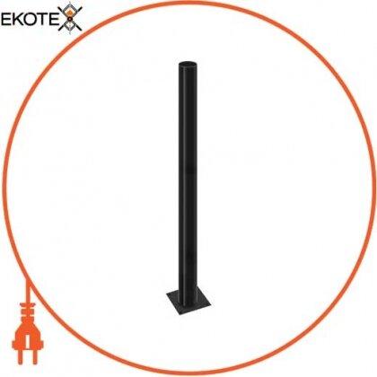 Enext l0120062 опора стальная e.street.bollard.st.2000.black, высота 2000мм, диаметр 60мм, черная