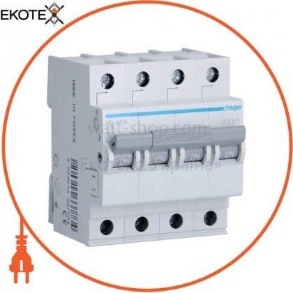 Hager MC416A автоматический выключатель 4p 6ka c-16a 4m