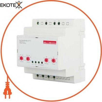 Enext p0690016 реле вибору фаз 16а e.control.v11