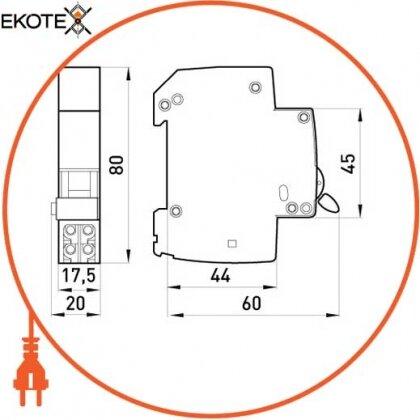 Enext p042103 независимый расцепитель e.mcb.sht