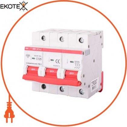 Enext i0630037 модульный автоматический выключатель e.industrial.mcb.150.3.c125, 3р, 125а, c, 15ка