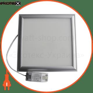 панель світлодіодна вбудована сво_15w_30х30 (07571) светодиодные светильники optima Optima 7571