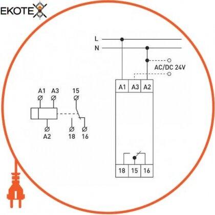 Enext i0310027 реле задержки времени на включение 0,3-30сек e.control.t15