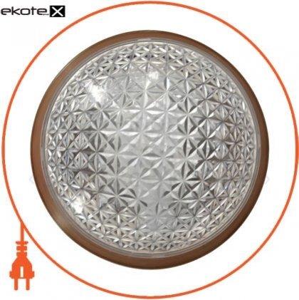 """Ecostrum 72241 светильник настенно-потолочный """"эклектика"""" е-006 орех нат."""