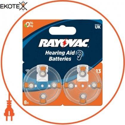 Varta 4606745418 батарейка rayovac 13 bli 8 шт