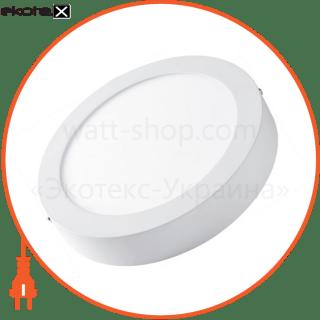 светодиодная панель круглая-6вт накладна (d120) 4200k, 470 люмен светодиодные светильники lezard Lezard 442SRP-06