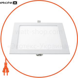 світлодіодна панель квадратна-3вт (85x85) 6400k, 240 люмен светодиодные светильники lezard Lezard 464RKP-03