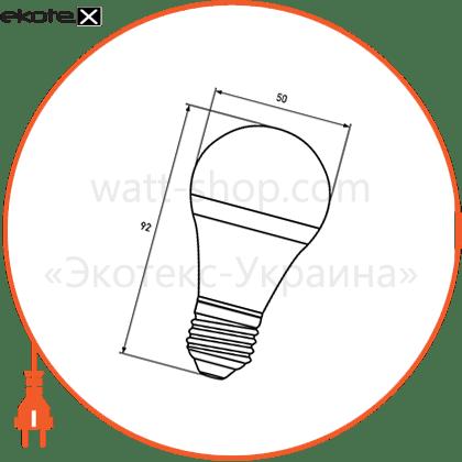 """промо-набір eurolamp led лампа a50 7w e27 3000k акція """"1+1"""" светодиодные лампы eurolamp Eurolamp MLP-LED-A50-07272(E)"""