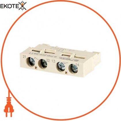 Enext p004025 блок дополнительных контактов фронтальный для азд (0,4-32) e.mp.pro.ae11: дополнительный 1no + 1nc
