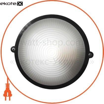 Ecostrum 72014 светильник нпп-65 круг чёрный опал.пс-1002-11-0/1