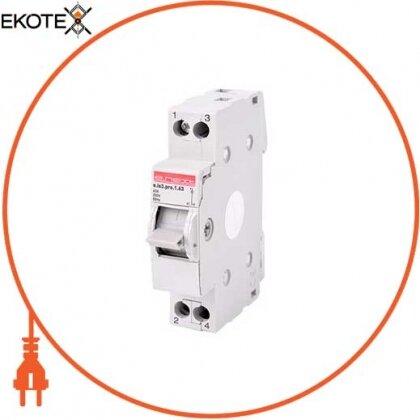 Enext p008013 выключатель на din-рейку на три положения e.is3.pro.1.63, 1р, 63а