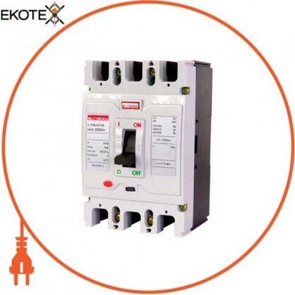 Enext i0650014 силовой автоматический выключатель e.industrial.ukm.250sm.160, 3р, 160а