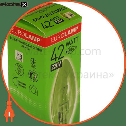 candle  42w 220v e14 clear галогенные лампы eurolamp Eurolamp NNG-CL/42/220(C)