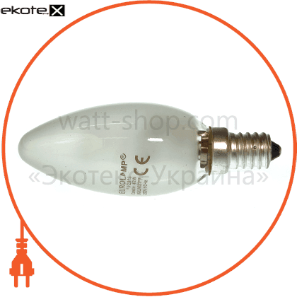 candle 42w 220v e14 frosted