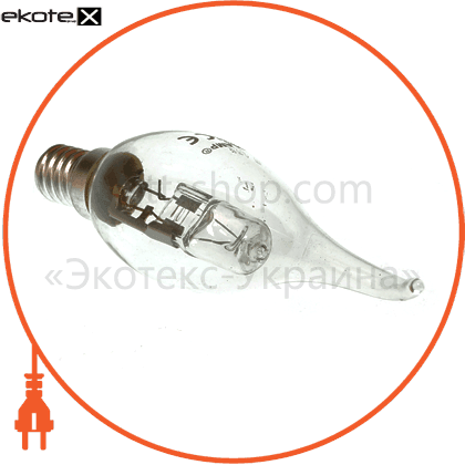candle tailed 42w 220v e14 clear