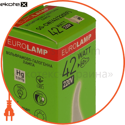 NNG-CLT/42/220(F) Eurolamp галогенные лампы eurolamp candle tailed 42w 220v e14 frosted