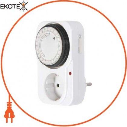Enext i0310018 реле времени электромеханическое розеточное суточное e.control.t11