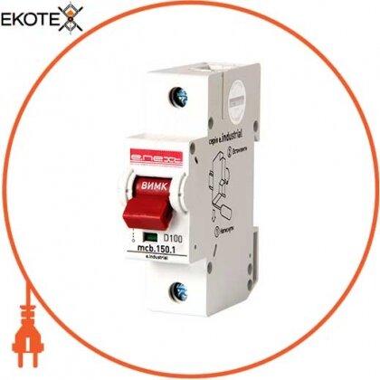 Enext i0630003 модульный автоматический выключатель e.industrial.mcb.150.1.d100, 1р, 100а, d, 15ка