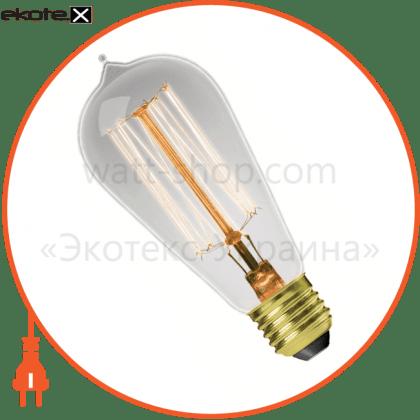 eurolamp лон капля artdeco st64 60w e27 2700k dimmable