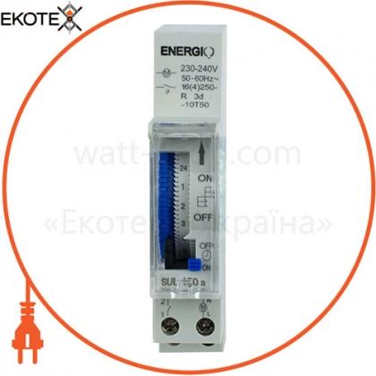ENERGIO 70104 таймер energio sul180a суточный электромеханический